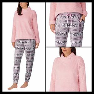 Jane and Bleecker Lounge Set Pink Medium 8-10